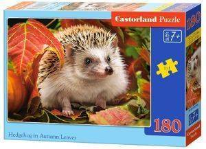 HEDGEHOG IN AUTUMN LEAVES CASTORLAND 180 ΚΟΜΜΑΤΙΑ