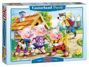 THREE LITTLE PIGS CASTORLAND 260 ΚΟΜΜΑΤΙΑ