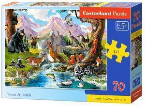 FOREST ANIMALS CASTORLAND 70 ΚΟΜΜΑΤΙΑ