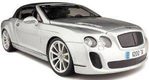 BENTLEY PLUS BBURAGO CONTINENTAL SUPERSPORTS CONVERTIBLE ΜΕΤΑΛΛΙΚΟ ΑΝΤΙΓΡΑΦΟ 1:18 ΑΣΗΜΙ