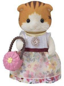 SYLVANIAN FAMILIES TOWN GIRL SERIES - MAPLE CAT [5363]