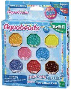 AQUABEADS REFILL - JEWEL BEAD PACK [79178]
