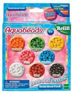 AQUABEADS REFILL - SOLID BEAD PACK [79168]