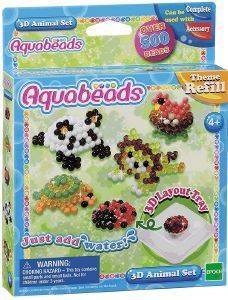 AQUABEADS REFILL - 3D ANIMAL SET [79218]