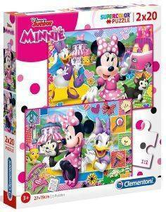 DISNEY MINNIE CLEMENTONI 2X20 ΚΟΜΜΑΤΙΑ