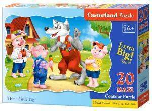 THREE LITTLE PIGS CASTORLAND 20 ΚΟΜΜΑΤΙΑ