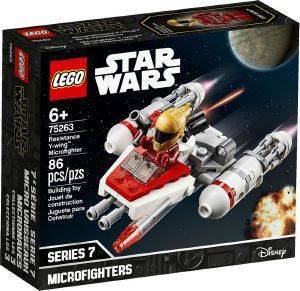 LEGO 75263 RESISTANCE Y-WING MICROFIGHTER
