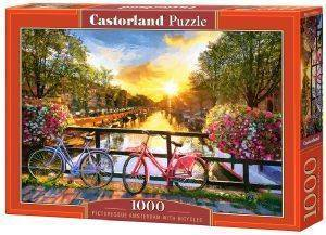 PICTURESQUE AMSTERDAM WITH BICYCLES CASTORLAND 1000 ΚΟΜΜΑΤΙΑ