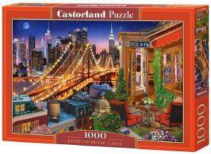 BROOKLYN BRIDGE LIGHTS CASTORLAND 1000 ΚΟΜΜΑΤΙΑ
