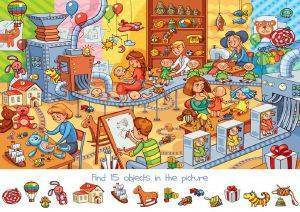 SEARCH AND FIND: THE TOY FACTORY BLUEBIRD 150 ΚΟΜΜΑΤΙΑ