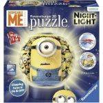 PUZZLE BALL - ΜΠΑΛΑΛAΜΠΑ ΤΡEΛΑ MINIONS RAVENSBURGER  72 ΚΟΜΜΑΤΙΑ