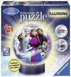 PUZZLE BALL - ΜΠΑΛΑΛAΜΠΑ ΤΡEΛΑ FROZEN  RAVENSBURGER  72 ΚΟΜΜΑΤΙΑ