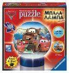 PUZZLE BALL - ΜΠΑΛΑΛAΜΠΑ ΤΡEΛΑ CARS RAVENSBURGER 108 ΚΟΜΜΑΤΙΑ