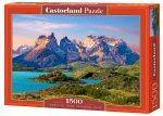 PUZZLES 1500 - TORRES DEL PAINE PATAGONIA CHILE CASTORLAND 1500 ΚΟΜΜΑΤΙΑ