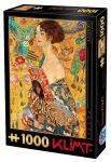 PUZZLES 1000 - LADY WITH A FAN KLIMT D-TOYS 1000 ΚΟΜΜΑΤΙΑ (66923-3)