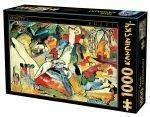 PUZZLES 1000 - YELLOW RED BLUE KANDINSKY D-TOYS 1000 ΚΟΜΜΑΤΙΑ (72849-3)