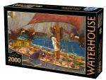 PUZZLES 2000 - WATERHOUSE JOHN WILLIAMS D-TOYS 2000 ΚΟΜΜΑΤΙΑ (72917-1)
