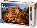 PUZZLES 500 - CASA MILA D-TOYS 500 ΚΟΜΜΑΤΙΑ (50328-32)
