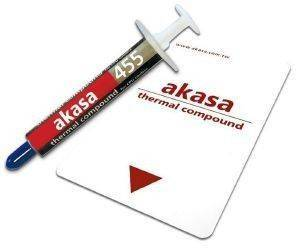 AKASA AK-455-5G HI PERFORMANCE THERMAL COMPOUND 5GR W/ SPREADER CARD