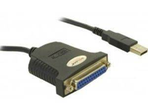 DELOCK 61330 ADAPTER USB PARALLEL 25-PIN 1,8 M
