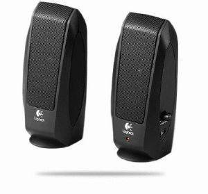 LOGITECH S120 BLACK STEREO SPEAKERS