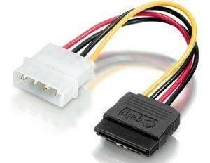 EQUIP 112055 SATA POWER CABLE ANGLED