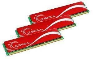 G.SKILL F3-12800CL9T-6GBNQ 6GB (3X2GB) DDR3 PC3-12800 1600MHZ TRIPLE CHANNEL KIT
