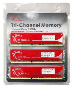 G SKILL F310666CL9T6GBNQ 6GB  3X2GB  DDR3 PC310600 1333MHZ TRIPLE CHANNEL KIT