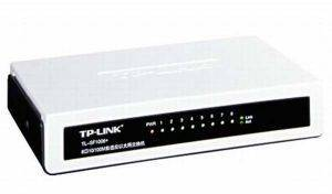 TP-LINK TL-SF1008D 8-PORT UNMANAGED 10/100M DESKTOP SWITCH