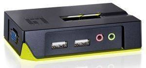 LEVEL ONE KVM-0221 2-PORT USB KVM SWITCH WITH AUDIO