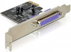DELOCK TR89219 PCI EXPRESS CARD TO PARALLEL