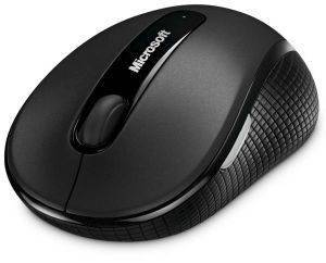 MICROSOFT WIRELESS MOBILE MOUSE 4000 BLACK RETAIL