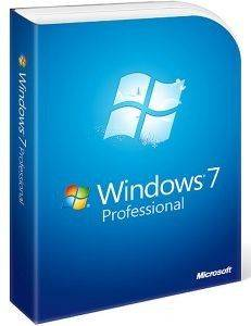 MICROSOFT WINDOWS PROFESSIONAL 7 ENGLISH 1PK UPGRADE RETAIL