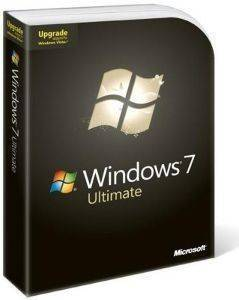 MICROSOFT WINDOWS ULTIMATE 7 ENGLISH 1PK UPGRADE RETAIL