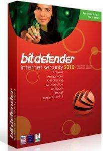BITDEFENDER INTERNET SECURITY 2010 1YEAR 3USERS