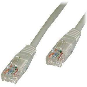 UTP CABLE CAT5E GREY 0.5M