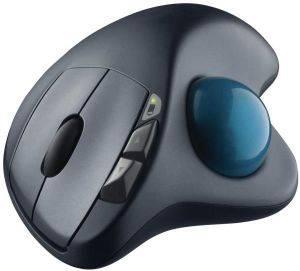 LOGITECH 910-001882 M570 WIRELESS TRACKBALL υπολογιστές πληκτρολογια ποντικια mouse
