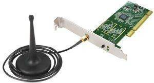 EDIMAX EW-7711IN WIRELESS PCI 150MBPS WITH DETACHABLE ANTENNA
