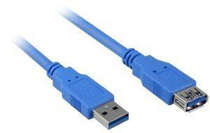 SHARKOON USB3.0 EXTENSION CABLE 3M BLUE