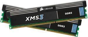 CORSAIR CMX8GX3M2A1333C9 XMS3 8GB  2X4GB  PC310600 DUAL CHANNEL KIT