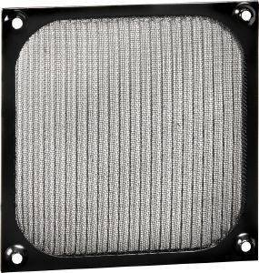 SHARKOON ALUMINIUM FAN FILTER 80MM BLACK