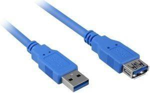 SHARKOON USB3.0 EXTENSION CABLE 1M BLUE