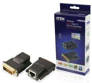 ATEN VE066-AT MINI CAT5 DVI EXTENDER