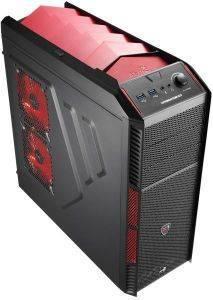 AEROCOOL XPREDATOR X1 DEVIL RED EDITION υπολογιστές θηκεσ ηυ midi