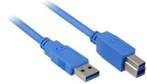 SHARKOON USB3.0 CABLE 1M BLUE