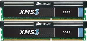CORSAIR CMX16GX3M2A1600C11 XMS3 16GB  2X8GB  PC3 12800 DUAL CHANNEL KIT