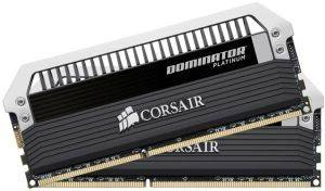 CORSAIR CMD8GX3M2A1600C8 DOMINATOR PLATINUM 8GB  2X4GB  DDR3 1600MHZ PC3 12800 DUAL CHANNEL KIT