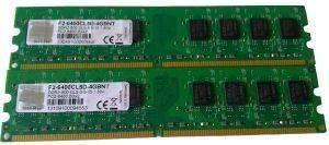 G.SKILL F2-6400CL5D-4GBNT 4GB (2X2GB) DDR2 PC2-6400 800MHZ DUAL CHANNEL KIT