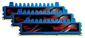 G SKILL F3 12800CL8T 6GBRM 6GB  3X2GB  DDR3 PC3 12800 1600MHZ RIPJAWS TRIPLE CHANNEL KIT