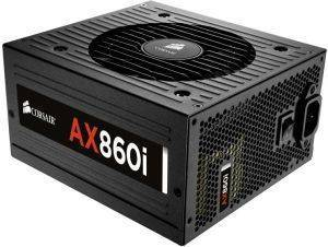 CORSAIR AX860I DIGITAL ATX POWER SUPPLY - 860 WATT 80 PLUS PLATINUM CERTIFIED FU υπολογιστές τροφοδοτικα 800 900 watt